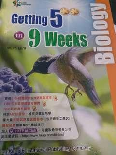 Getting 5** in 9 weeks Biology