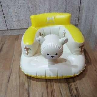 Inflatable children chair cum float