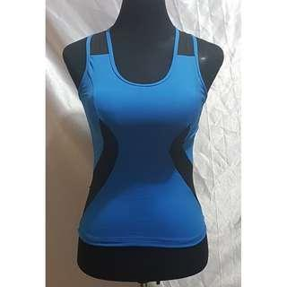 Preloved Body Music Sleeveless Workout Top (Size Details on Description)