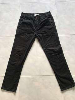 INDUSTRIE casual black pant