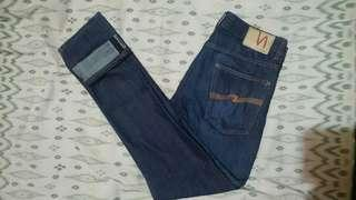 Celana NUDIE JEANS CO Size 31 Fit Up To 33