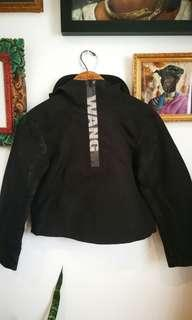 ALEXANDER WANG X H&M anorak rain jacket streetwear