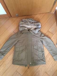 Brand New Faux Fur Winter Jacket 全新毛毛冬天外套