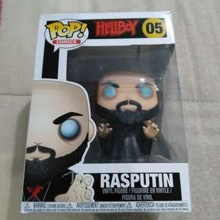 Legit Brand New With Box Funko Pop Comics Hellboy Rasputin Toy Figure