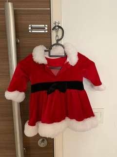 🚚 Mothercare Mrs Santa Claus Dress