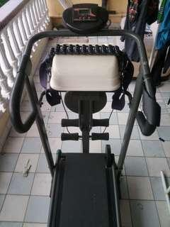 4 in 1 Fitness Machine with Treadmill