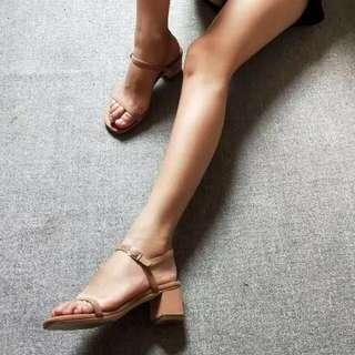 (BN) Heels in Nude Color