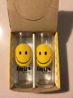 🚚 微笑玻璃水杯
