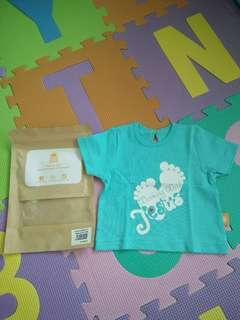 🚚 BNIP Baby Girl Short Sleeve T-shirt from Glorious Seed