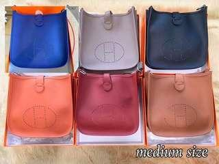 HERMES Evelyn Medium Bag 💫FREE SF💫
