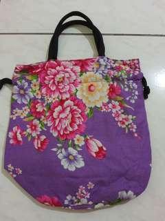 🚚 花朵造型購物袋