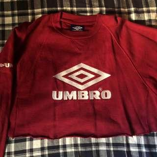 🚚 Cropped Maroon Umbro