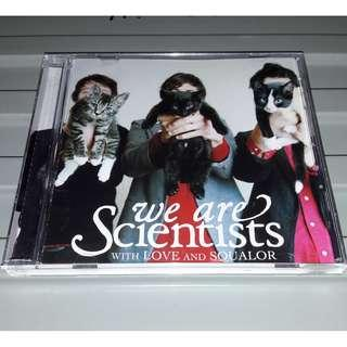 WE ARE SCIENTISTS - With Love And Squalor (CD, Album)