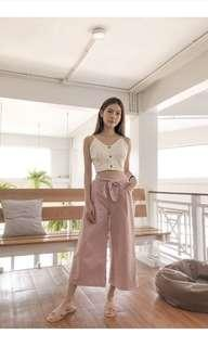 🚚 SHOPWOOWOO Alila Culottes - pink