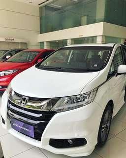 Ready Stock New Honda Odyssey Warna Putih & Hitam Ayo dapatkan unitnya