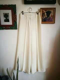 VERONIKA MAINE White flowy formal pants