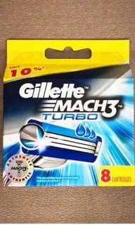 🚚 Gilette Mach 3 turbo