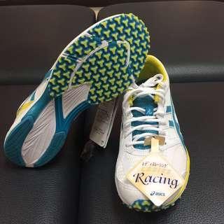 全新 24cm asics亞瑟士 女鞋 路跑鞋 慢跑鞋 馬拉松鞋 TJR849