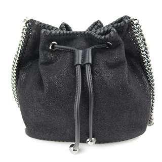 Stella Mccartney Falabella Black Bucket Bag