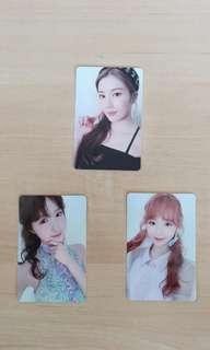 WTT FOR MINJU OR WONYOUNG PHOTOCARDS