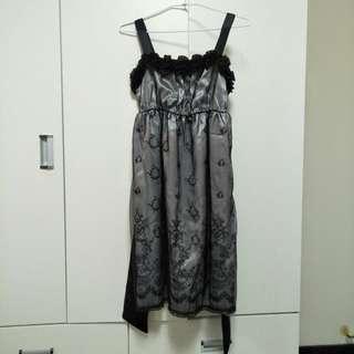 🚚 0918 黑色綁帶小禮服
