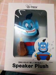 全新日本迪士尼阿拉丁神燈 公仔 喇叭電腦mp3 手機 speaker genie Aladdin Disney sea japan