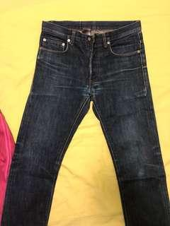 🚚 Dior Homme jeans raw MIJ 28