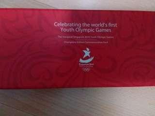 Singapore 2010 youth olympic games commemorative pack