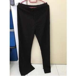 Black lady long trouser