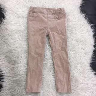 Skinny Jeans girl coudroy pants hm gap uniqlo