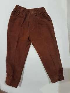 Celana Panjang Cokelat / Brown Pants