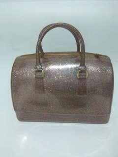 Preloved Furla Glitter Speedy bag