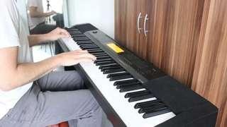brand new 重錘琴鍵 ! CASIO CDP-235RBK 88鍵 數碼鋼琴 Digital piano CDP235 伴奏+錄音+700個音色