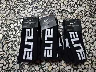 🚚 Nike elite 籃球襪 (27~30cm) 3雙一組