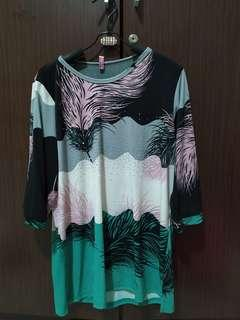 Blouse jersey super fit to xxl