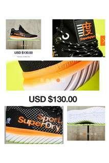 🚚 Superdry weave ultra lite Sports Size 42 Half Price