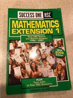 Success One HSC Mathematics Extension 1