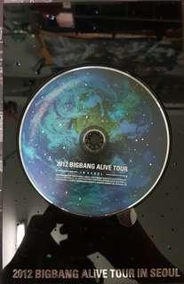 2012 Bigbang Alive Tour in Seoul Album