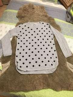Size small spotty jumper