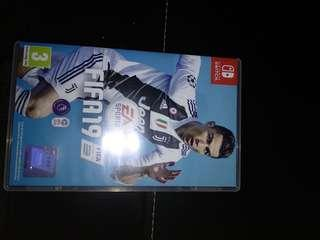 Used Fifa 19 Nintendo Switch game