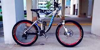 WTT Giant Glory DH bike