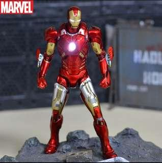 VERY RARE & HOT! *Urgent Pre-Order* Comicave Marvel Avengers Iron Man Mark 7 / Mk7 Figure with LED light up features! #EndgameYourExcess