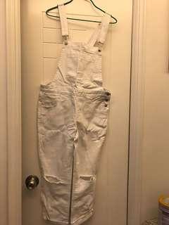 白色工人褲