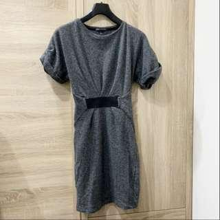 🚚 Mango MNG毛料合身洋裝