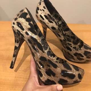 Dolce & Gabbana Leopard Heels