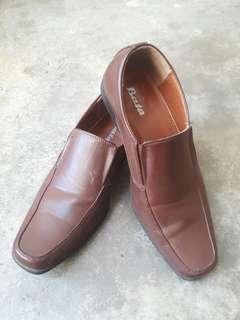 Kasut kulit coklat / brown leather shoe