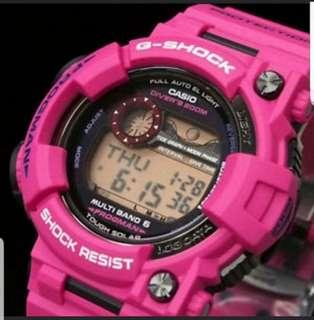 G- Shock Frogman GWF 1000 in Sunrise Purple Casio Japan Limited Edition