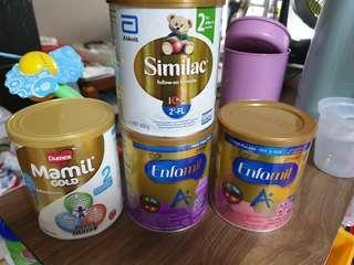 Enfamil, Similac, Mamil Gold Stage 2 (Small Tin)