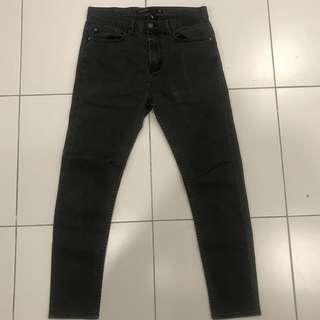 Cotton On Skinny Black Size 30