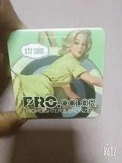 🚚 pro.color s.f.r highlighter & bronzer
